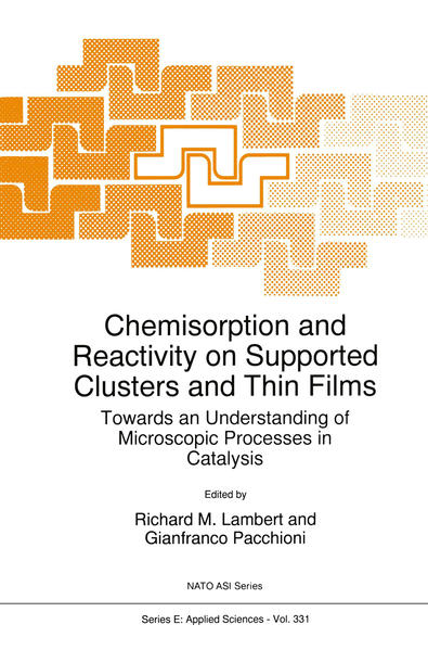 Chemisorption and Reactivity on Supported Clusters and Thin Films: - Coverbild