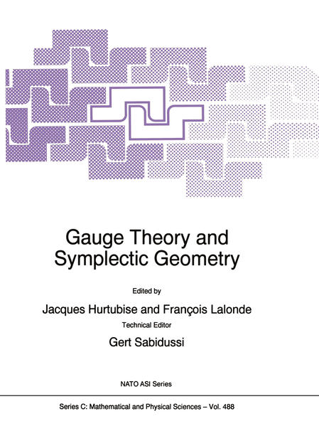 Gauge Theory and Symplectic Geometry - Coverbild