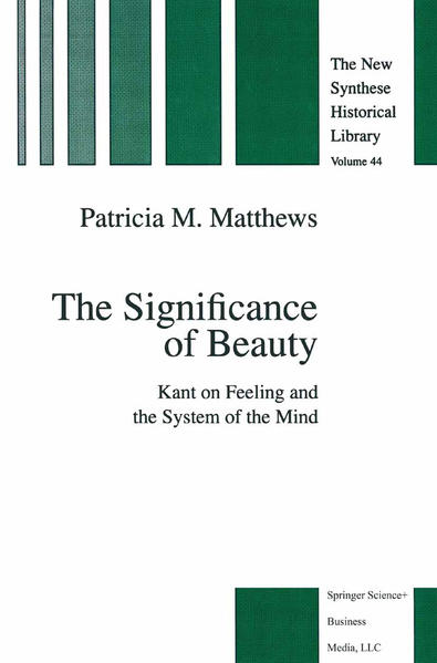 The Significance of Beauty - Coverbild