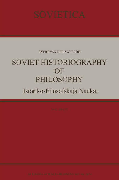 Soviet Historiography of Philosophy - Coverbild