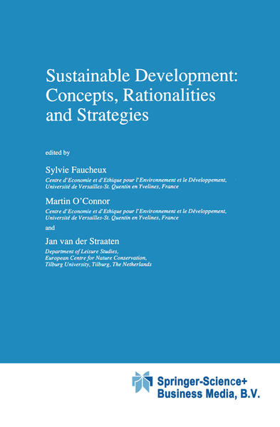 Sustainable Development: Concepts, Rationalities and Strategies - Coverbild