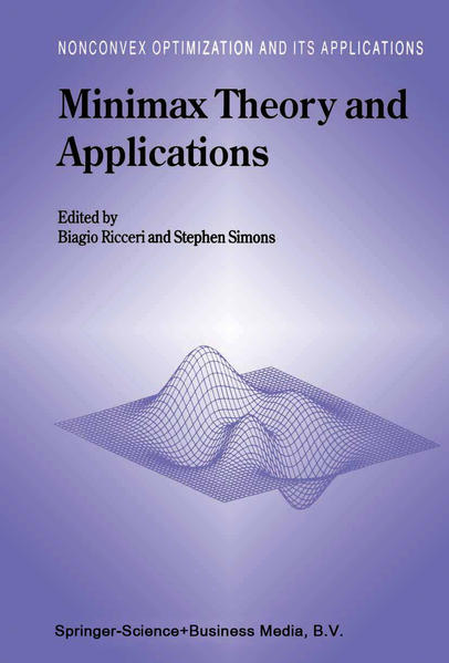 Minimax Theory and Applications - Coverbild