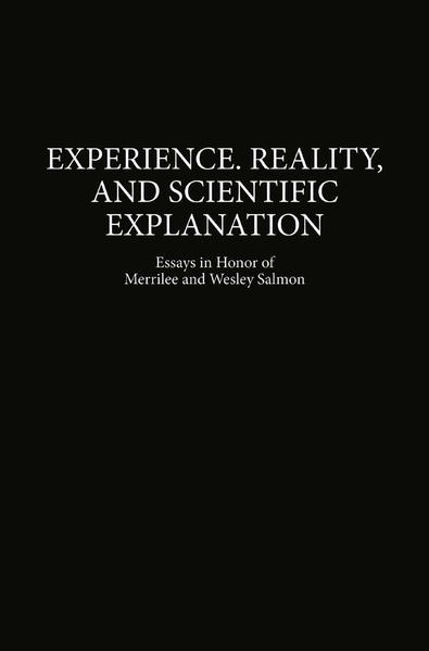 Experience, Reality, and Scientific Explanation - Coverbild