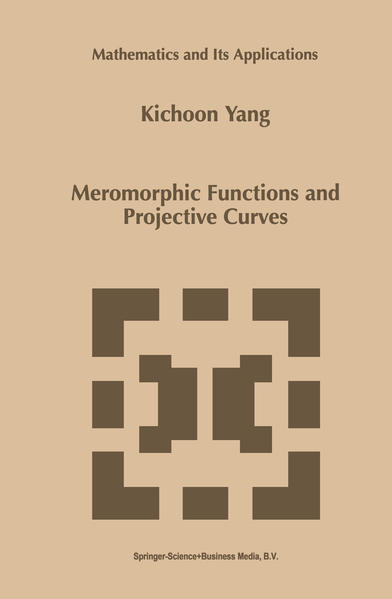 Meromorphic Functions and Projective Curves - Coverbild