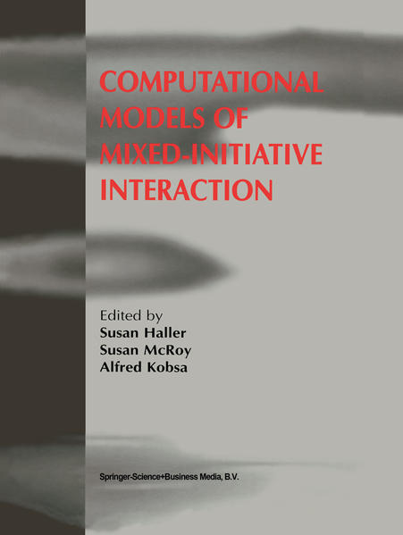 Computational Models of Mixed-Initiative Interaction - Coverbild