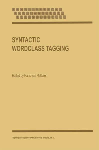 Syntactic Wordclass Tagging - Coverbild