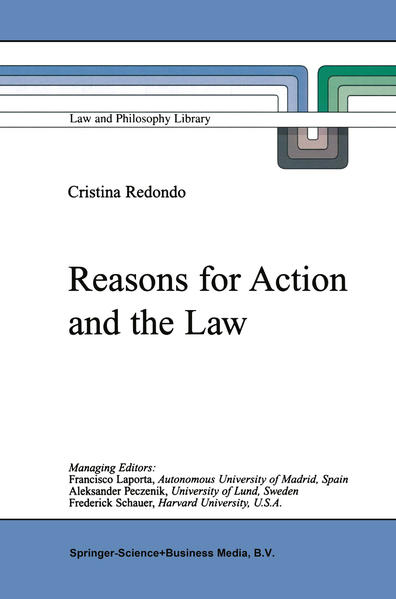 Reasons for Action and the Law - Coverbild