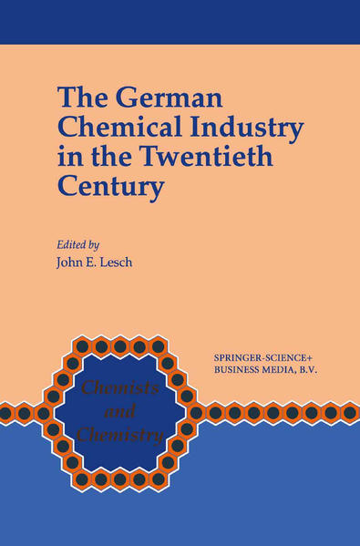 The German Chemical Industry in the Twentieth Century - Coverbild
