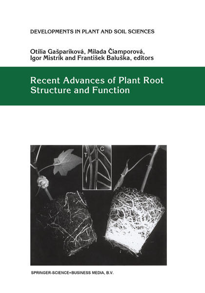 Recent Advances of Plant Root Structure and Function - Coverbild