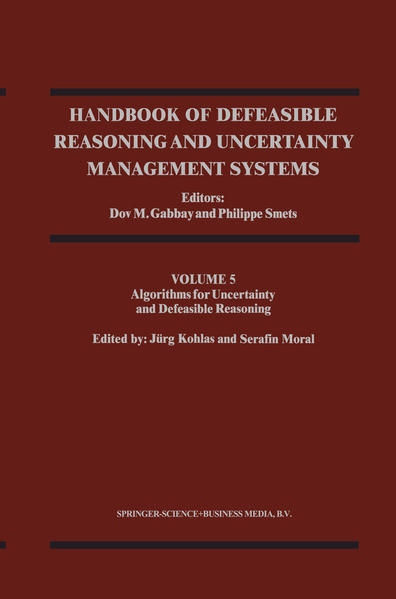 Handbook of Defeasible Reasoning and Uncertainty Management Systems - Coverbild