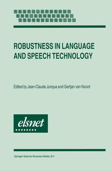 Robustness in Language and Speech Technology - Coverbild