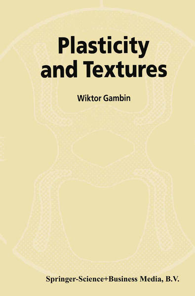 Plasticity and Textures - Coverbild
