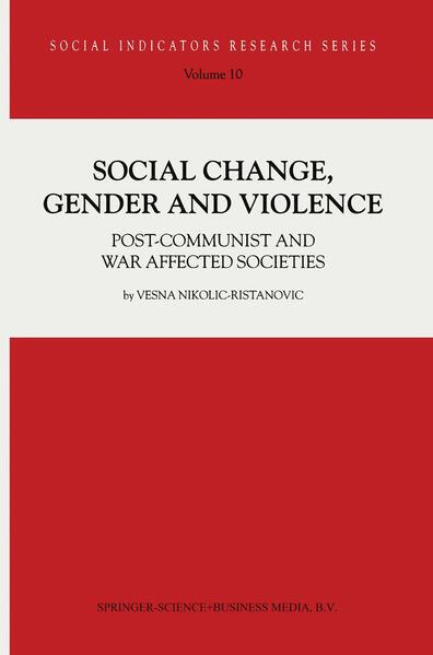 Social Change, Gender and Violence - Coverbild