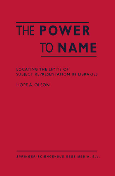 The Power to Name - Coverbild