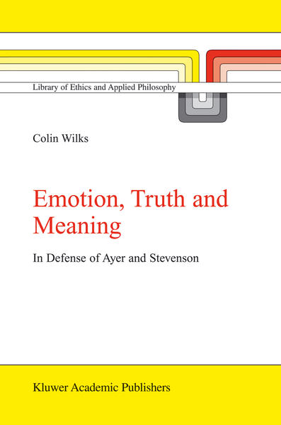 Emotion, Truth and Meaning - Coverbild