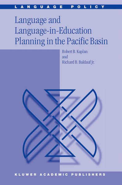 Language and Language-in-Education Planning in the Pacific Basin - Coverbild