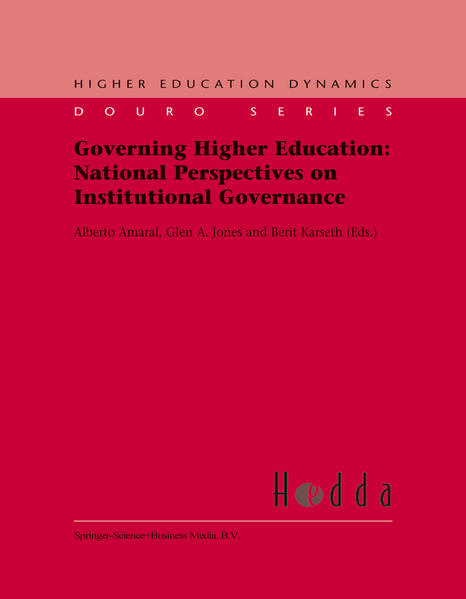 Governing Higher Education: National Perspectives on Institutional Governance - Coverbild