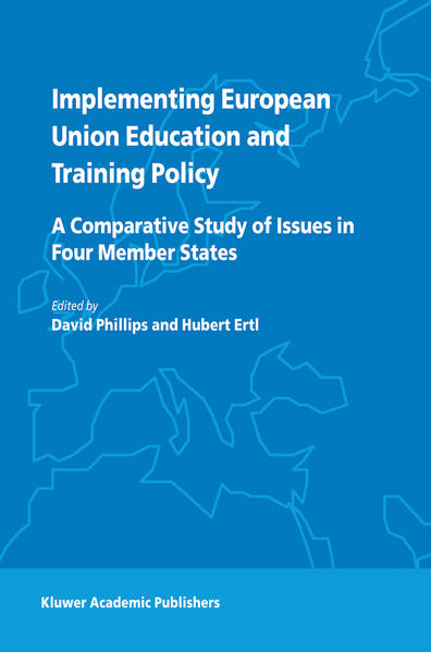 Implementing European Union Education and Training Policy - Coverbild