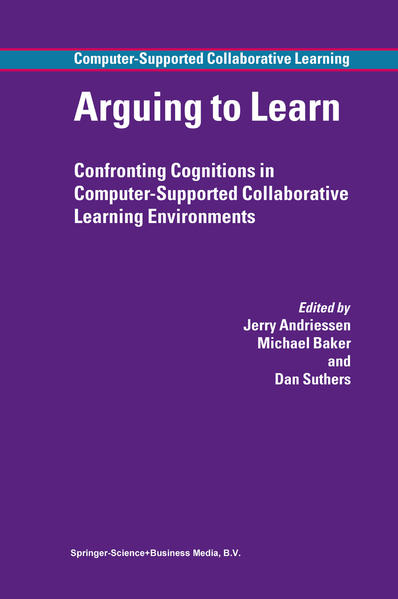 Arguing to Learn - Coverbild
