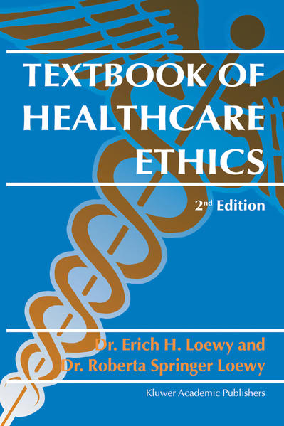 Textbook of Healthcare Ethics - Coverbild
