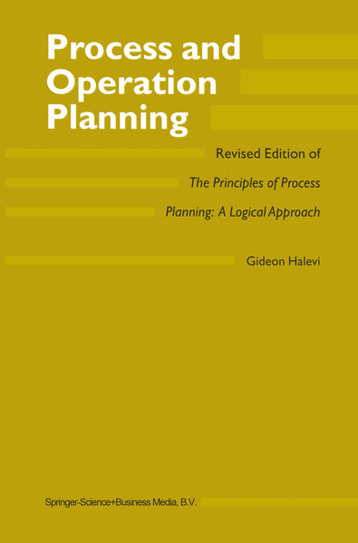 Process and Operation Planning - Coverbild