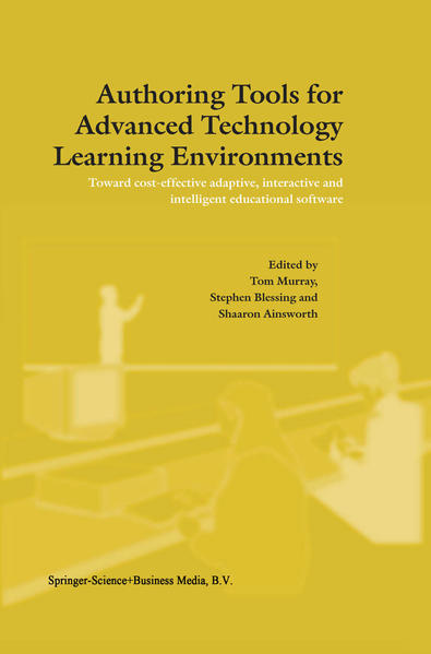 Authoring Tools for Advanced Technology Learning Environments - Coverbild