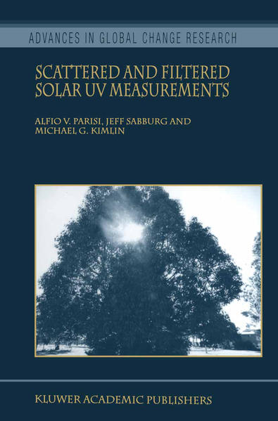 Scattered and Filtered Solar UV Measurements - Coverbild