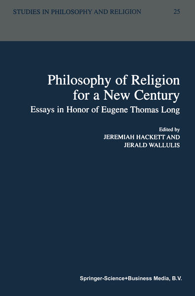 Philosophy of Religion for a New Century - Coverbild