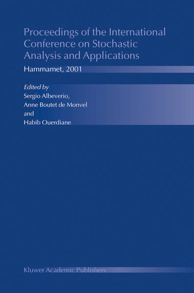 Proceedings of the International Conference on Stochastic Analysis and Applications - Coverbild