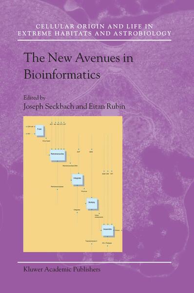 The New Avenues in Bioinformatics - Coverbild