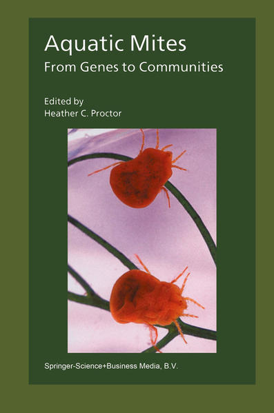 Aquatic Mites from Genes to Communities - Coverbild