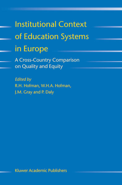 Institutional Context of Education Systems in Europe - Coverbild