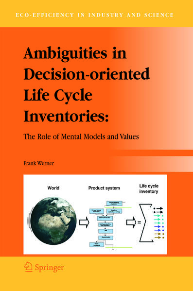 Ambiguities in Decision-oriented Life Cycle Inventories - Coverbild