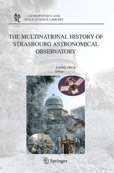 The Multinational History of Strasbourg Astronomical Observatory - Coverbild