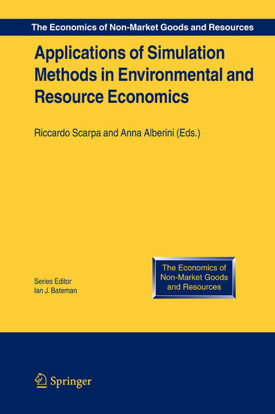 Applications of Simulation Methods in Environmental and Resource Economics - Coverbild