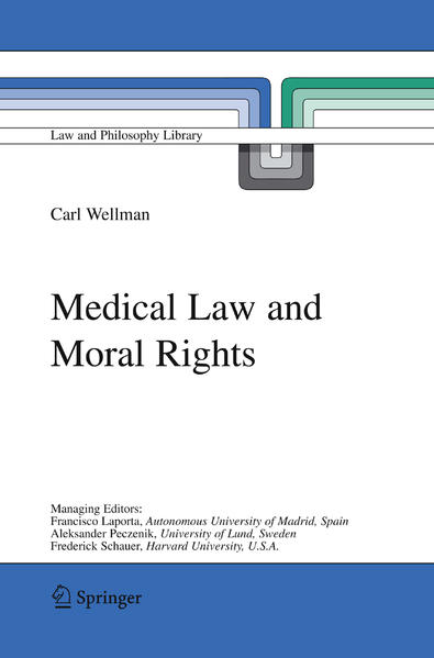 Medical Law and Moral Rights - Coverbild