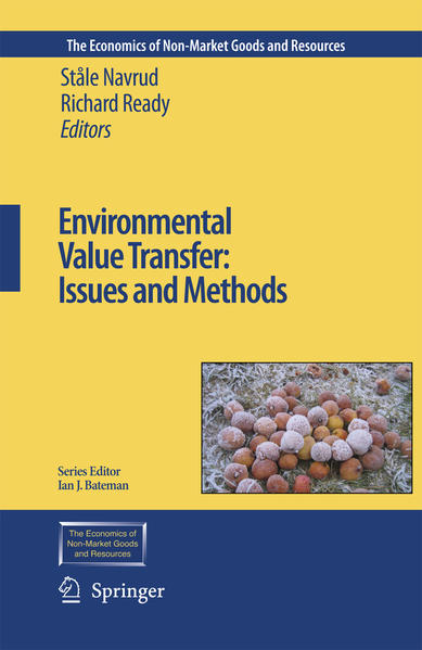 Environmental Value Transfer: Issues and Methods - Coverbild
