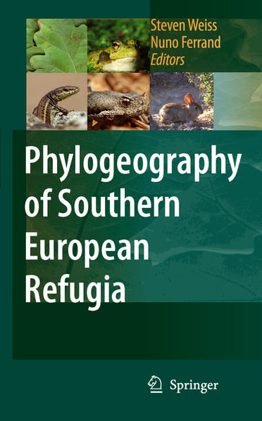 Phylogeography of Southern European Refugia - Coverbild