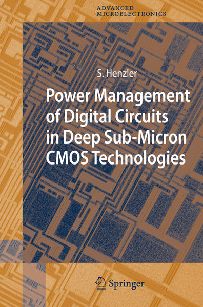 Power Management of Digital Circuits in Deep Sub-Micron CMOS Technologies - Coverbild