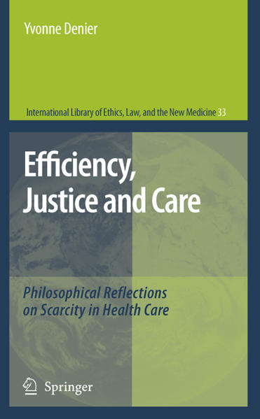 Efficiency, Justice and Care - Coverbild