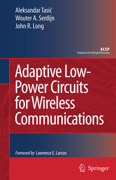 Adaptive Low-Power Circuits for Wireless Communications - Coverbild