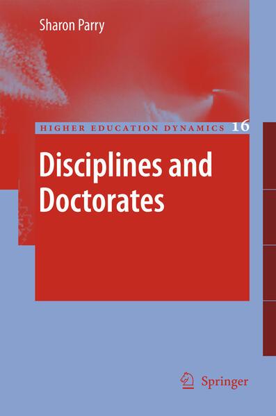 Disciplines and Doctorates - Coverbild