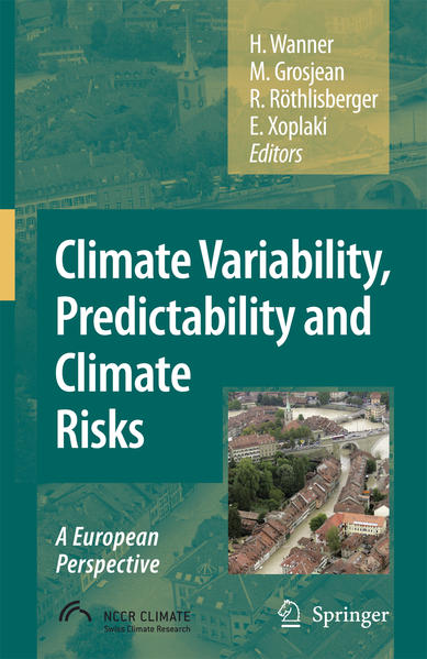 Climate Variability, Predictability and Climate Risks - Coverbild