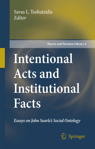 Intentional Acts and Institutional Facts - Coverbild