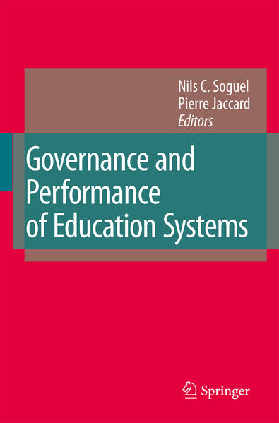 Governance and Performance of Education Systems - Coverbild