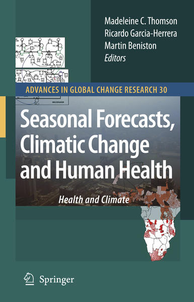 Seasonal Forecasts, Climatic Change and Human Health - Coverbild