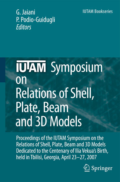IUTAM Symposium on Relations of Shell, Plate, Beam and 3D Models - Coverbild