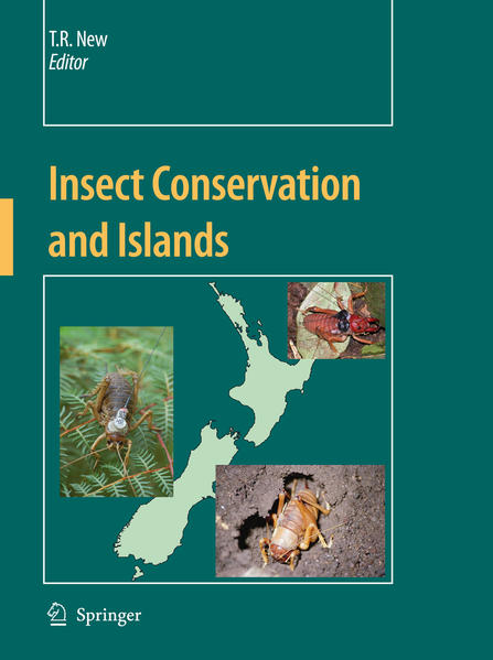 Insect Conservation and Islands - Coverbild