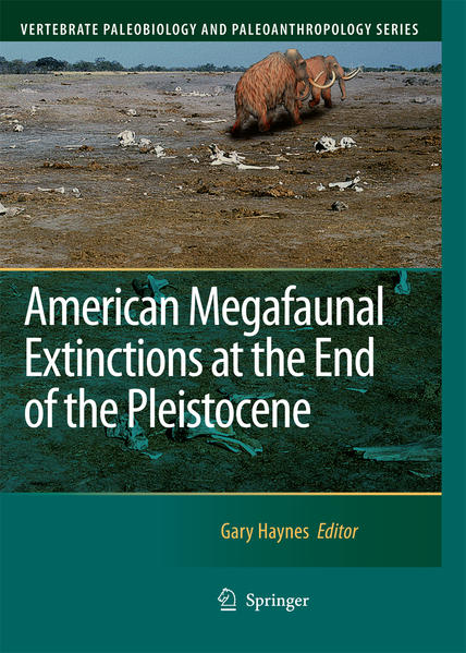 American Megafaunal Extinctions at the End of the Pleistocene - Coverbild