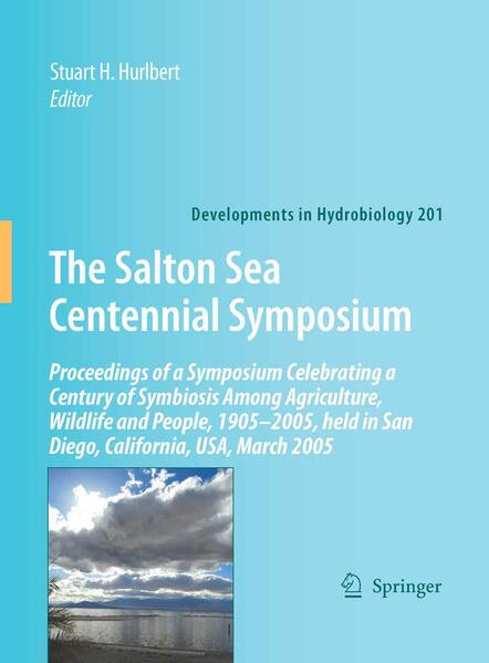 The Salton Sea Centennial Symposium - Coverbild